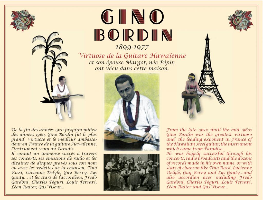 Plaque Gino Bordin