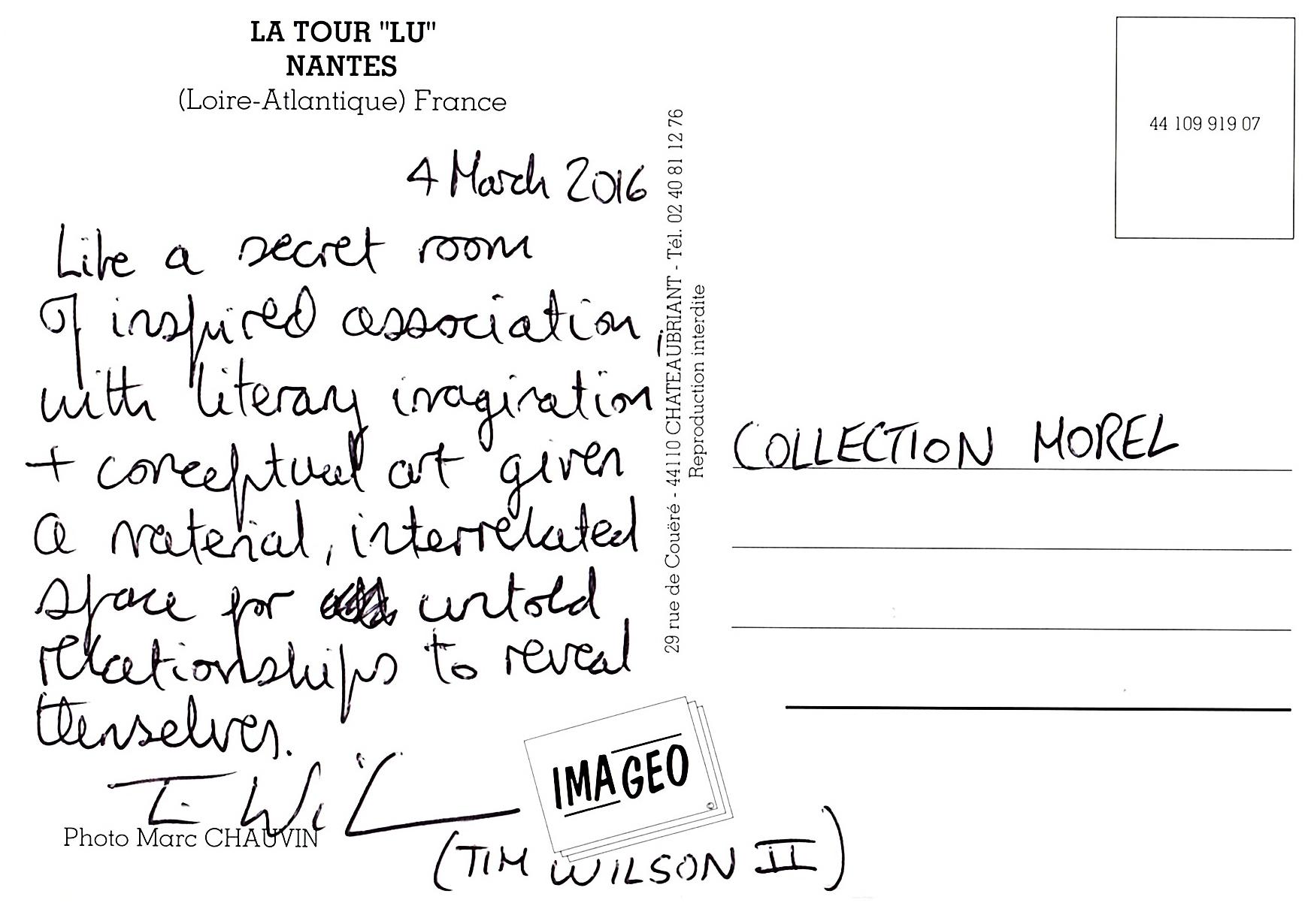 Carte-postale de visite de Tim Wilson (2)