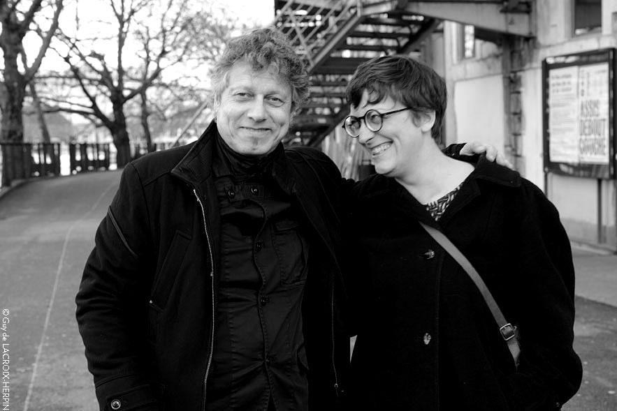 Pierre Bastien et Marie-Pierre Bonniol, Nantes, 2016, credit Guy de Lacroix-Herpin 2